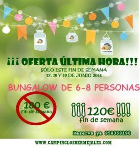 oferta bungalow