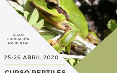 Curso ANFIBIOS Y REPTILES de Andalucía ABRIL 2020