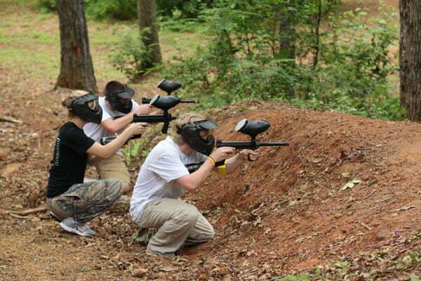 paintball granada actividades de camping